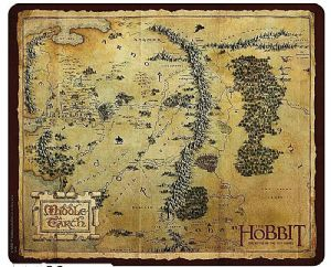 The Hobbit Middle Earth Mouse Mat  (aby)